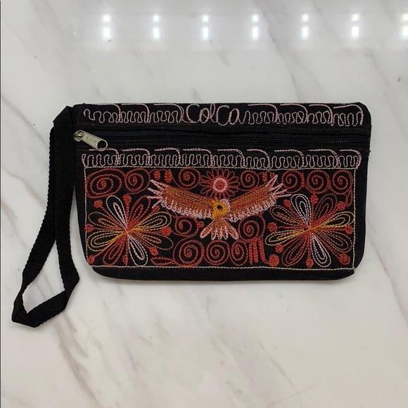 Handbags - Inca Design Zip Pouch